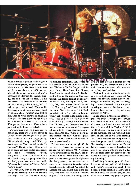 2001.09.DD - Modern Drummer - Matt Sorum: Surviving Super Stardom 2001_019