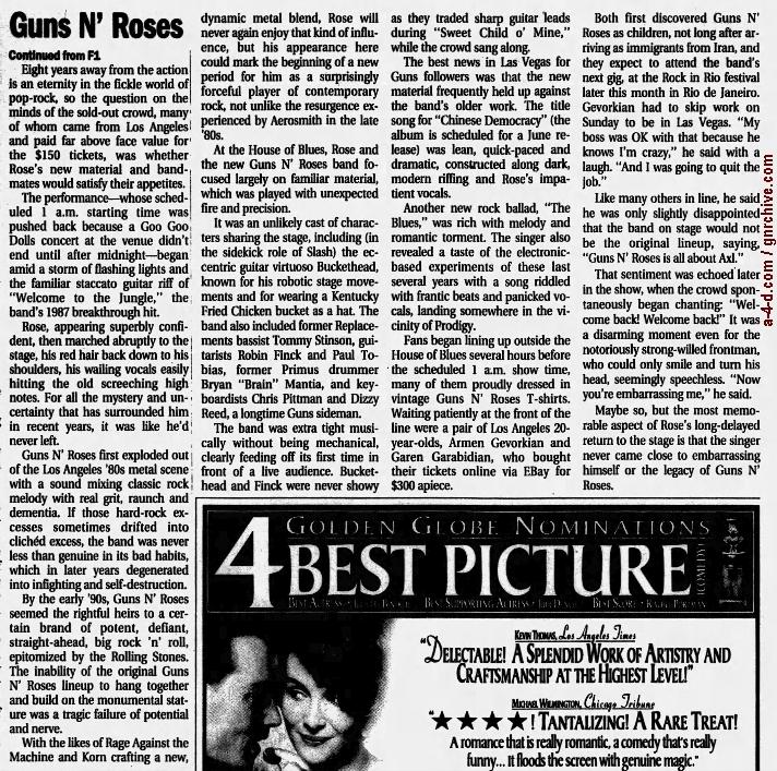 2001.01.01 - House Of Blues, Las Vegas, USA 2001_025