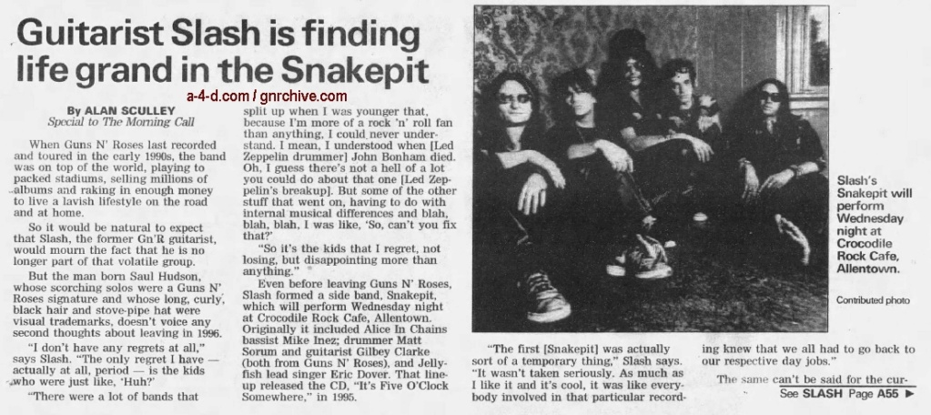 2001.03.10 - The Morning Call - Guitarist Slash Is Finding Life Grand In The Snakepit 2001_033