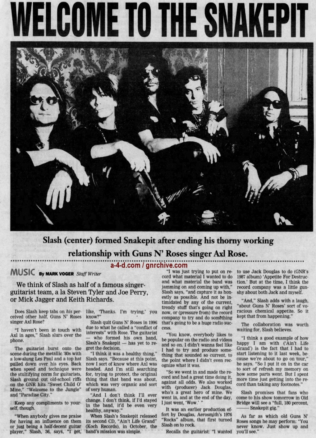 2001.06.22 - Ashbury Park Press - Welcome To The Snakepit (Slash) 2001_042
