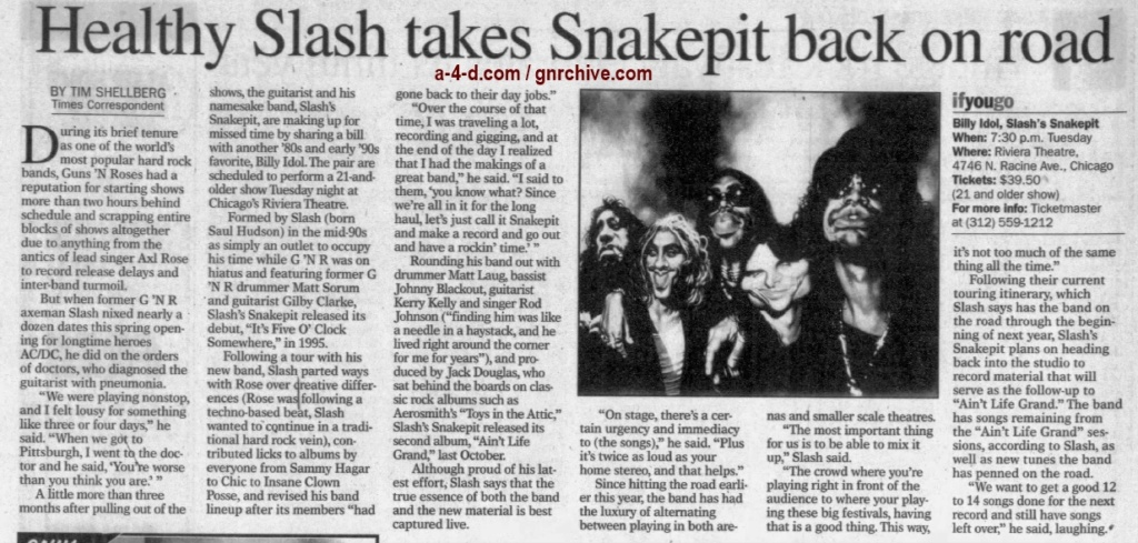2001.06.22 - The Munster Times - Healthy Slash Takes Snakepit Back On The Road 2001_043