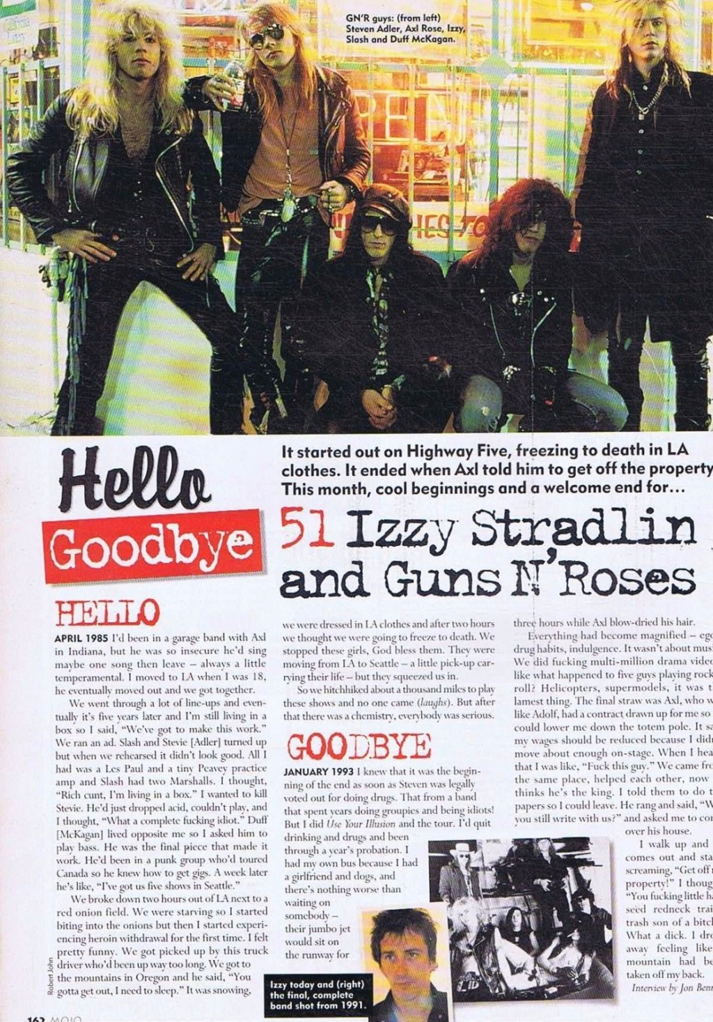 2001.06.DD - Mojo - Hello/Goodbye: Izzy Stradlin and Guns N' Roses 2001_m10