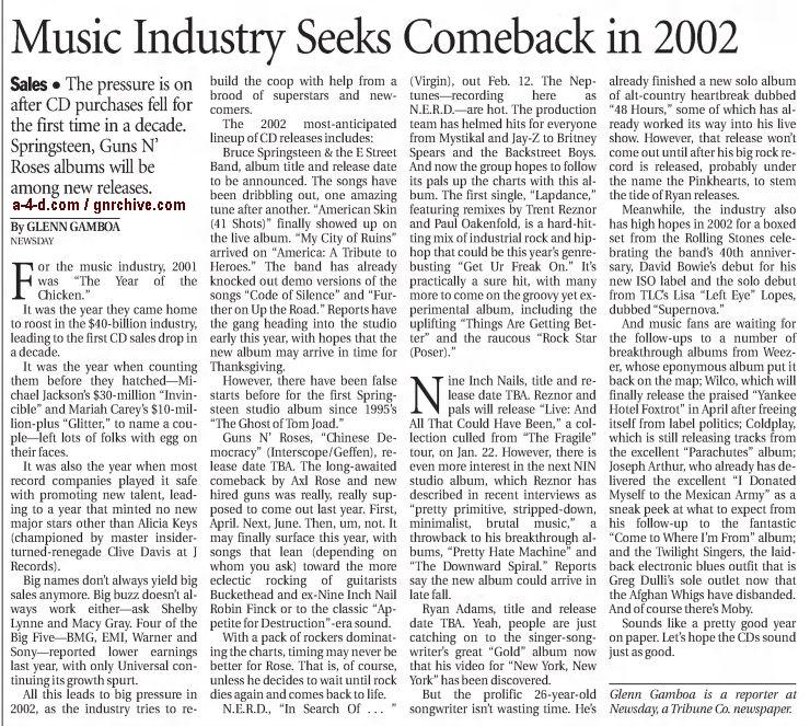 2002.01.05 - Los Angeles Times - Music Industry Seeks Comeback in 2002 2002_027
