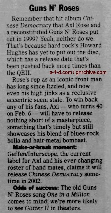 2002.01.13 - The Santa Fe New Mexican - Guns N' Roses 2002_028