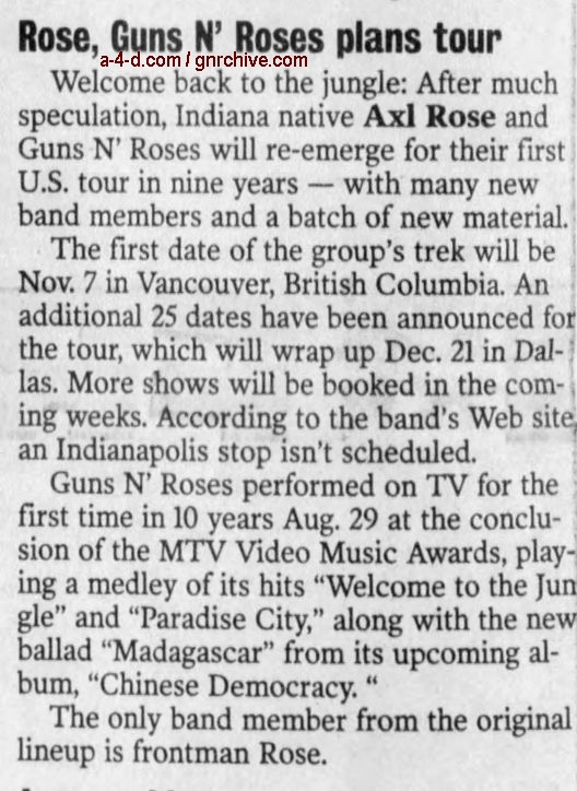 2002.09.25 - Gnronline - Press Release: Guns N' Roses Announce First North American Tour Since 1993! 2002_044