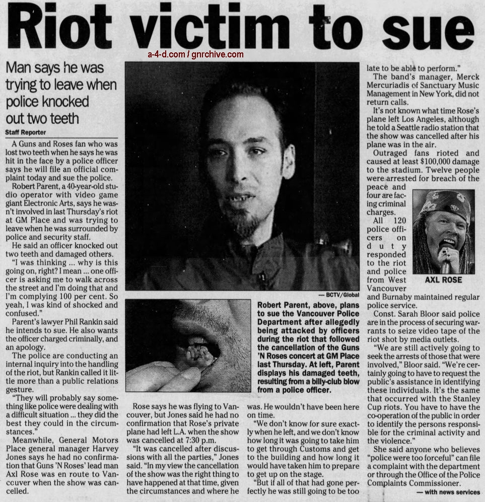 2002.11.08-15 - The Province - Various articles about the riot in Vancouver 2002_122
