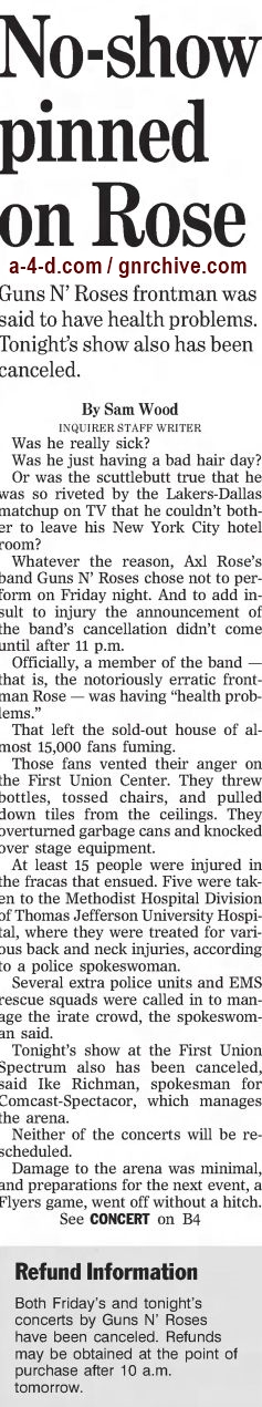 2002.12.07/08 - The Philadelphia Inquirer - Reports on the no-show in Philadelphia 2002_183