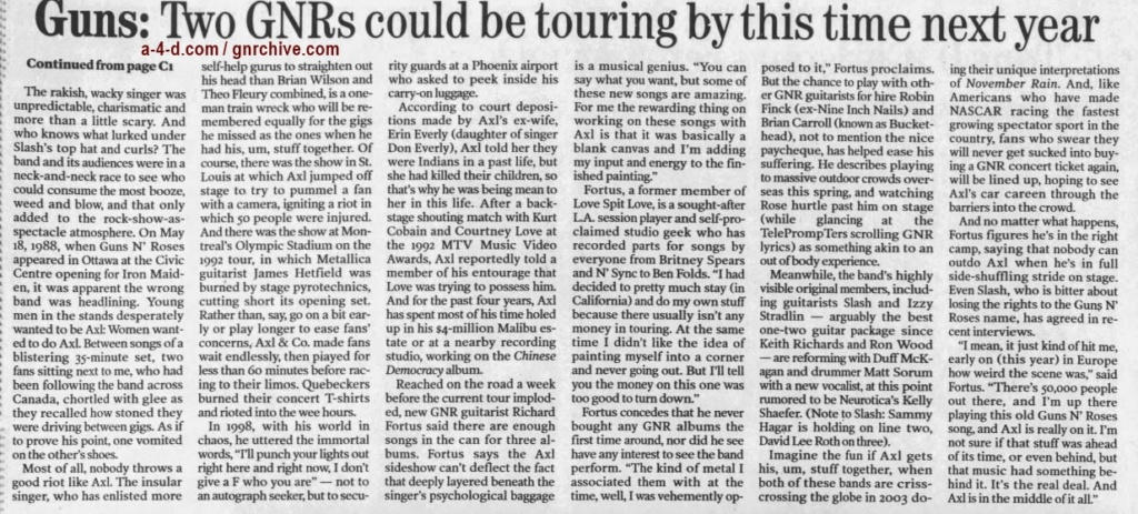 2002.12.16 - The Ottawa Citizen - The Sad Tale That Is (Was) Guns N' Roses 2002_197