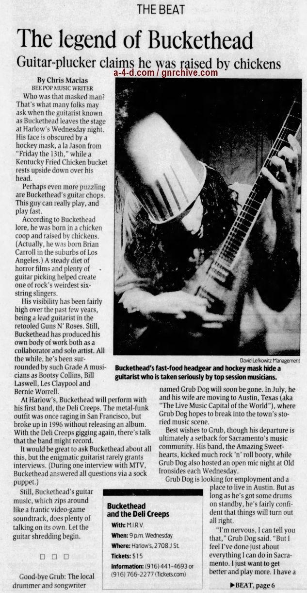 2003.06.01 - The Sacramento Bee - The Legend of Buckethead 2003_031