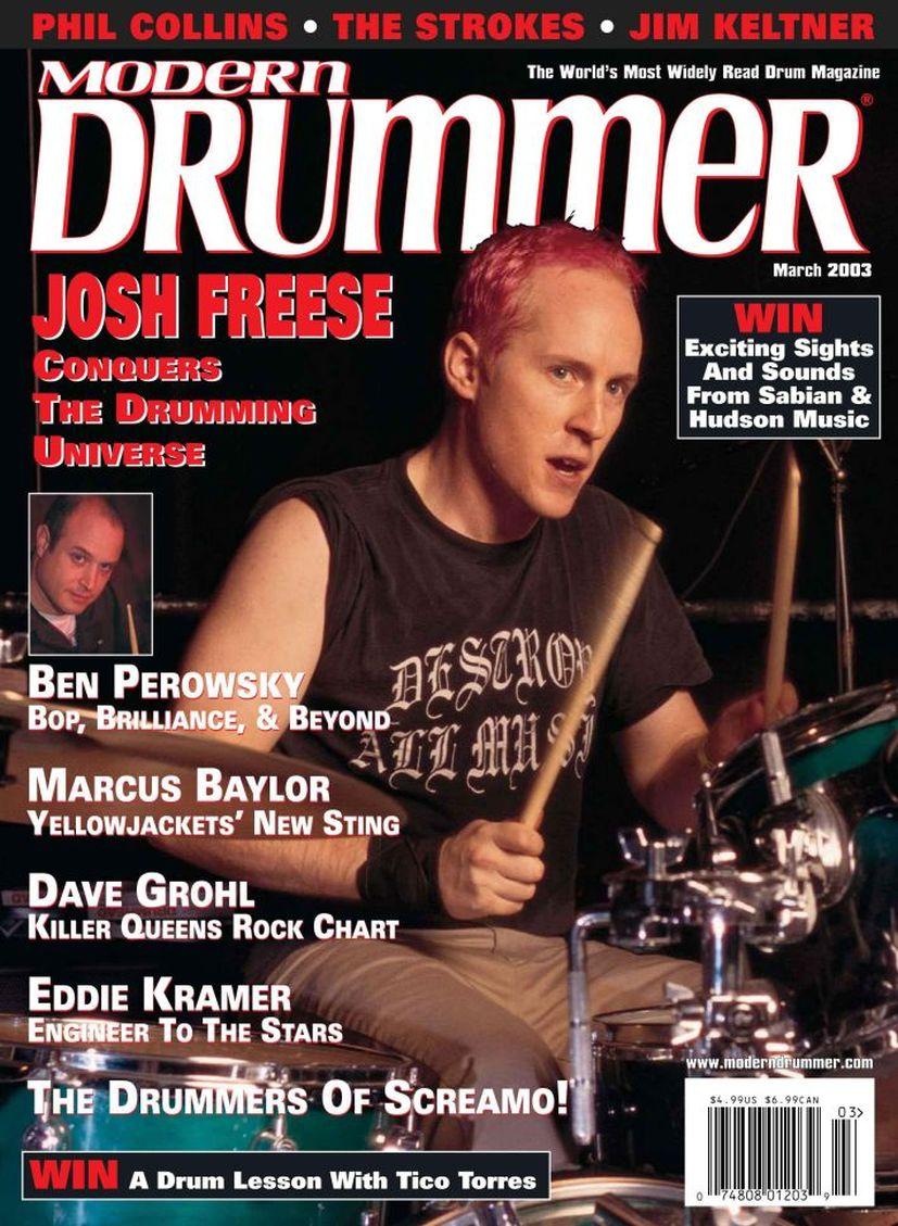 2003.03.DD - Modern Drummer - Josh Freese: In Demand 2003_035