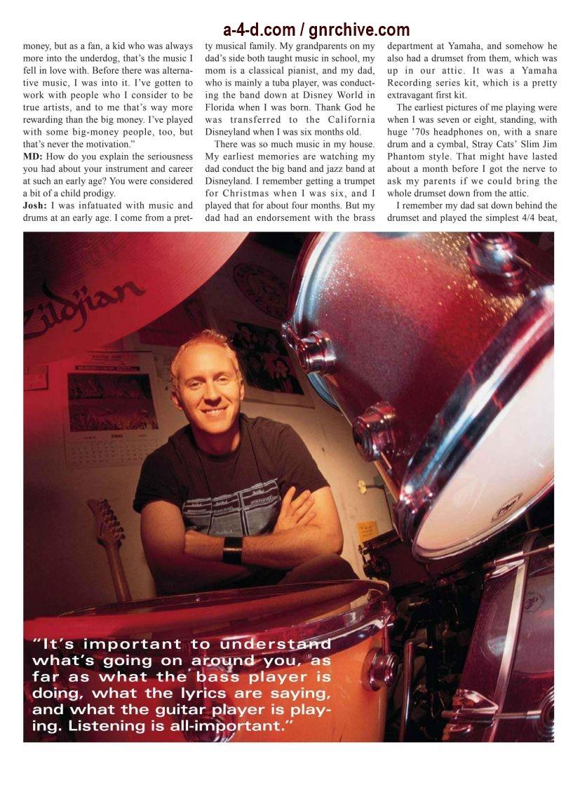 2003.03.DD - Modern Drummer - Josh Freese: In Demand 2003_038