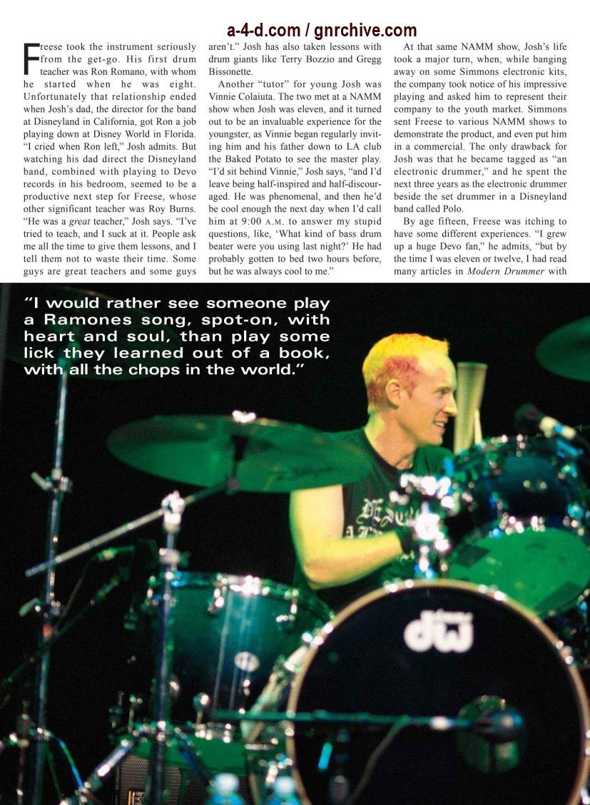 2003.03.DD - Modern Drummer - Josh Freese: In Demand 2003_039