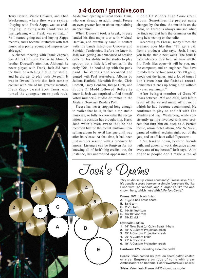 2003.03.DD - Modern Drummer - Josh Freese: In Demand 2003_040