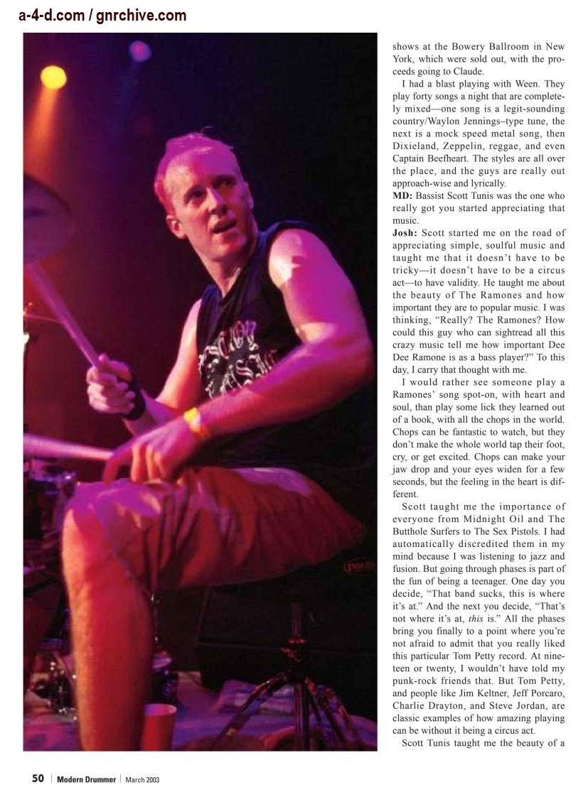 2003.03.DD - Modern Drummer - Josh Freese: In Demand 2003_042