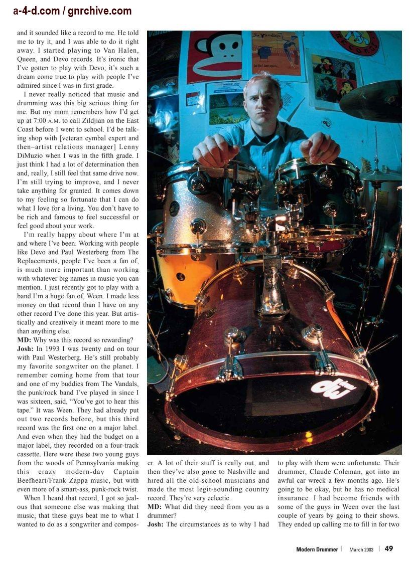 2003.03.DD - Modern Drummer - Josh Freese: In Demand 2003_043