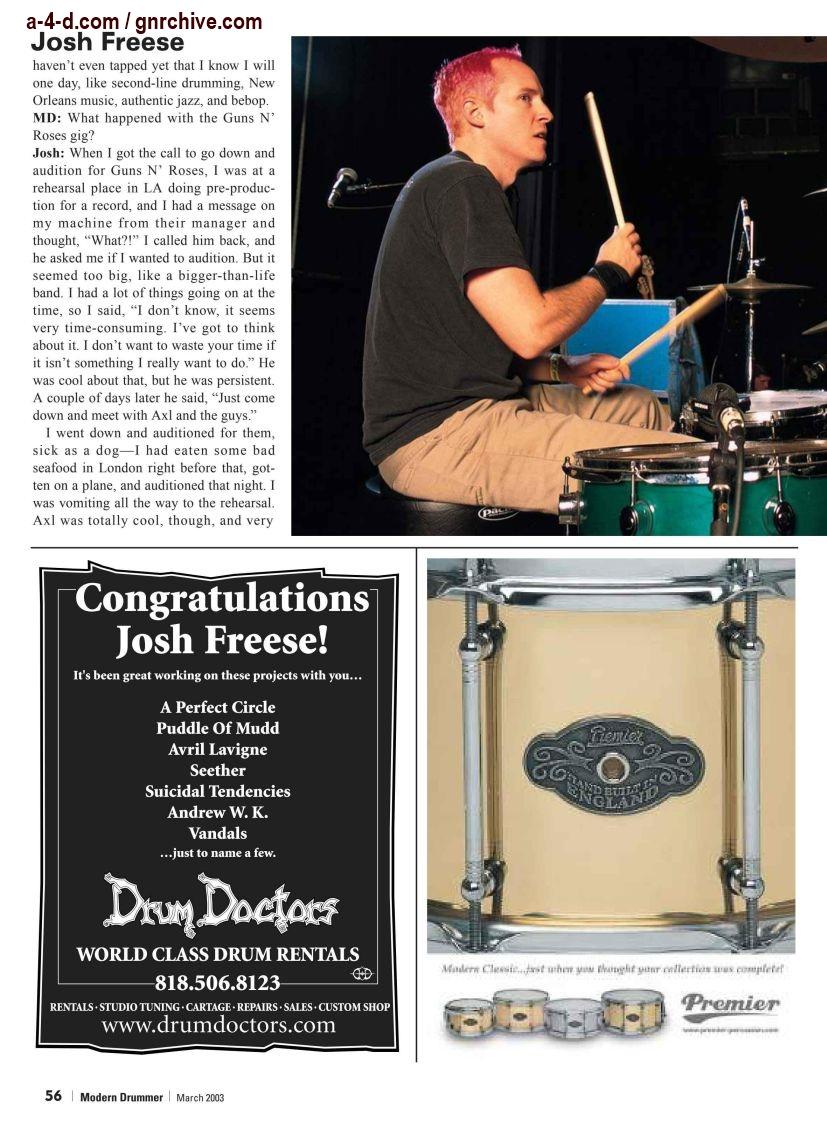 2003.03.DD - Modern Drummer - Josh Freese: In Demand 2003_044