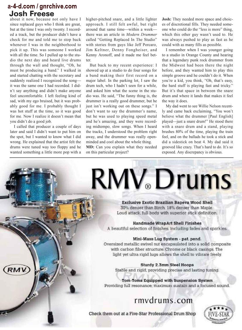 2003.03.DD - Modern Drummer - Josh Freese: In Demand 2003_045