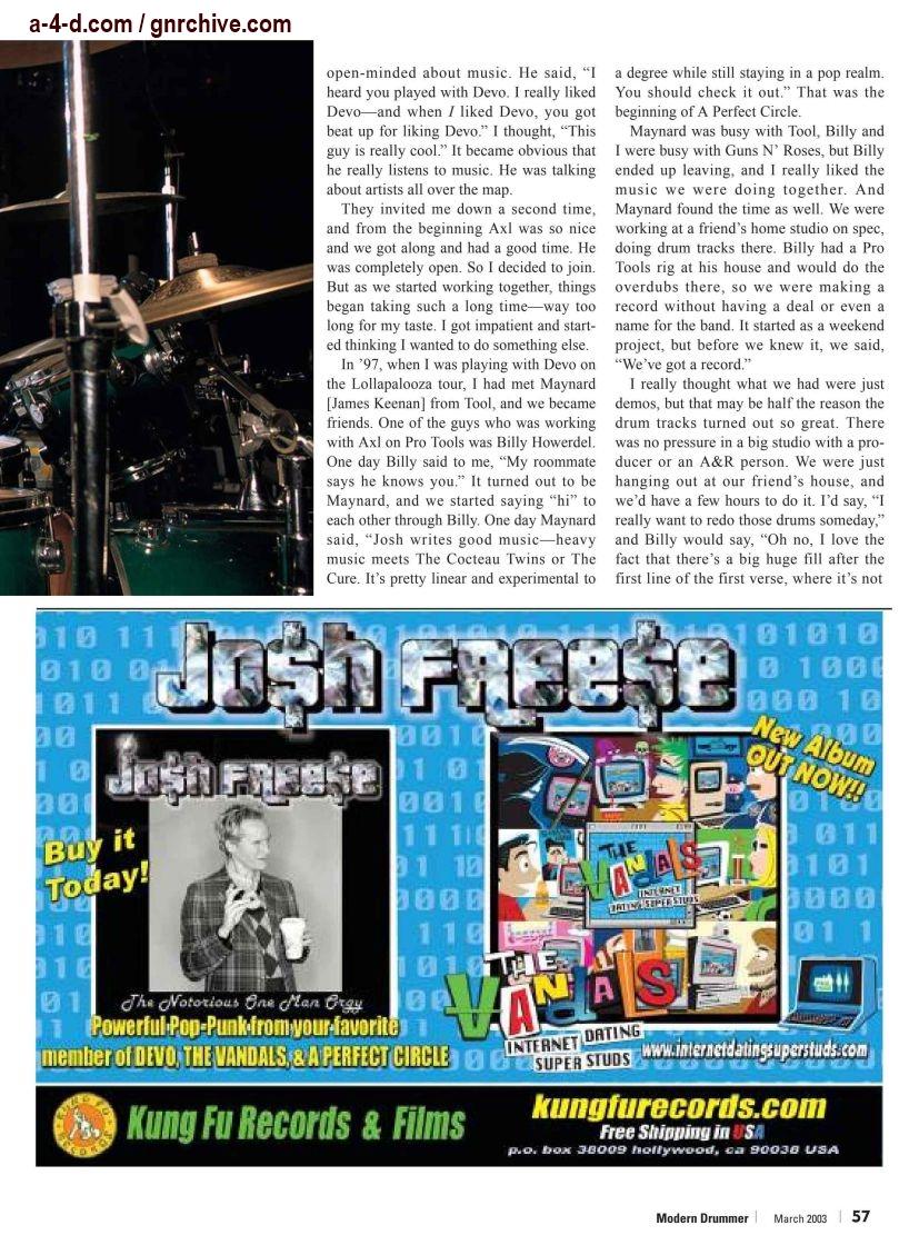 2003.03.DD - Modern Drummer - Josh Freese: In Demand 2003_047