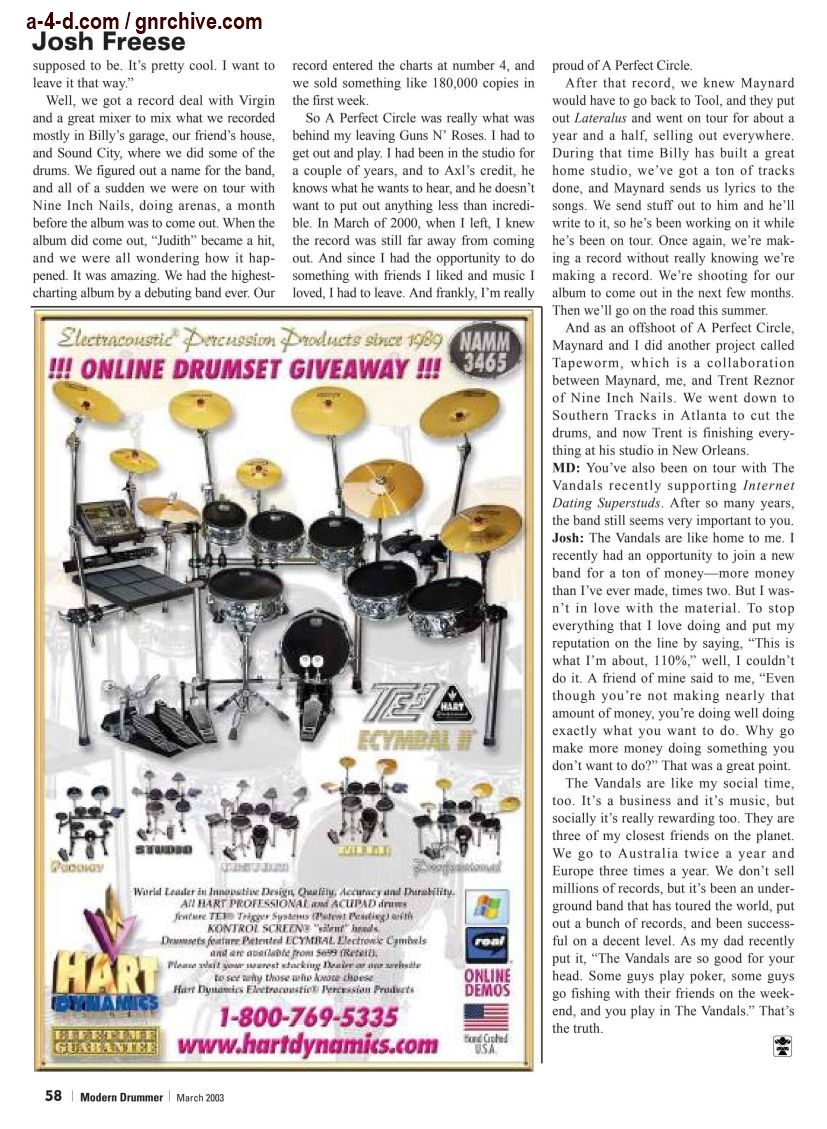 2003.03.DD - Modern Drummer - Josh Freese: In Demand 2003_048