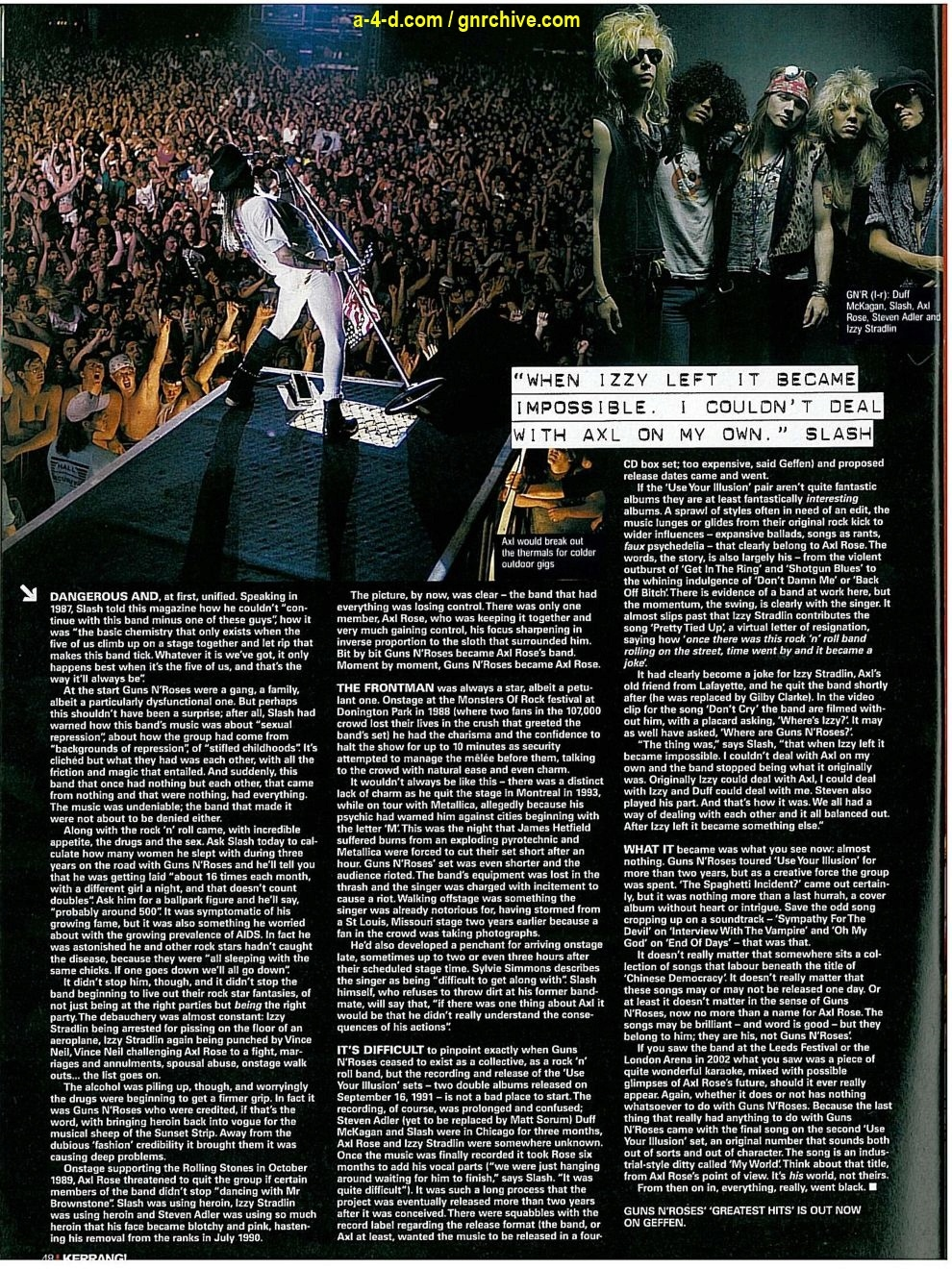 2004.03.20 - Kerrang! - Welcome To The Jungle 2004-047