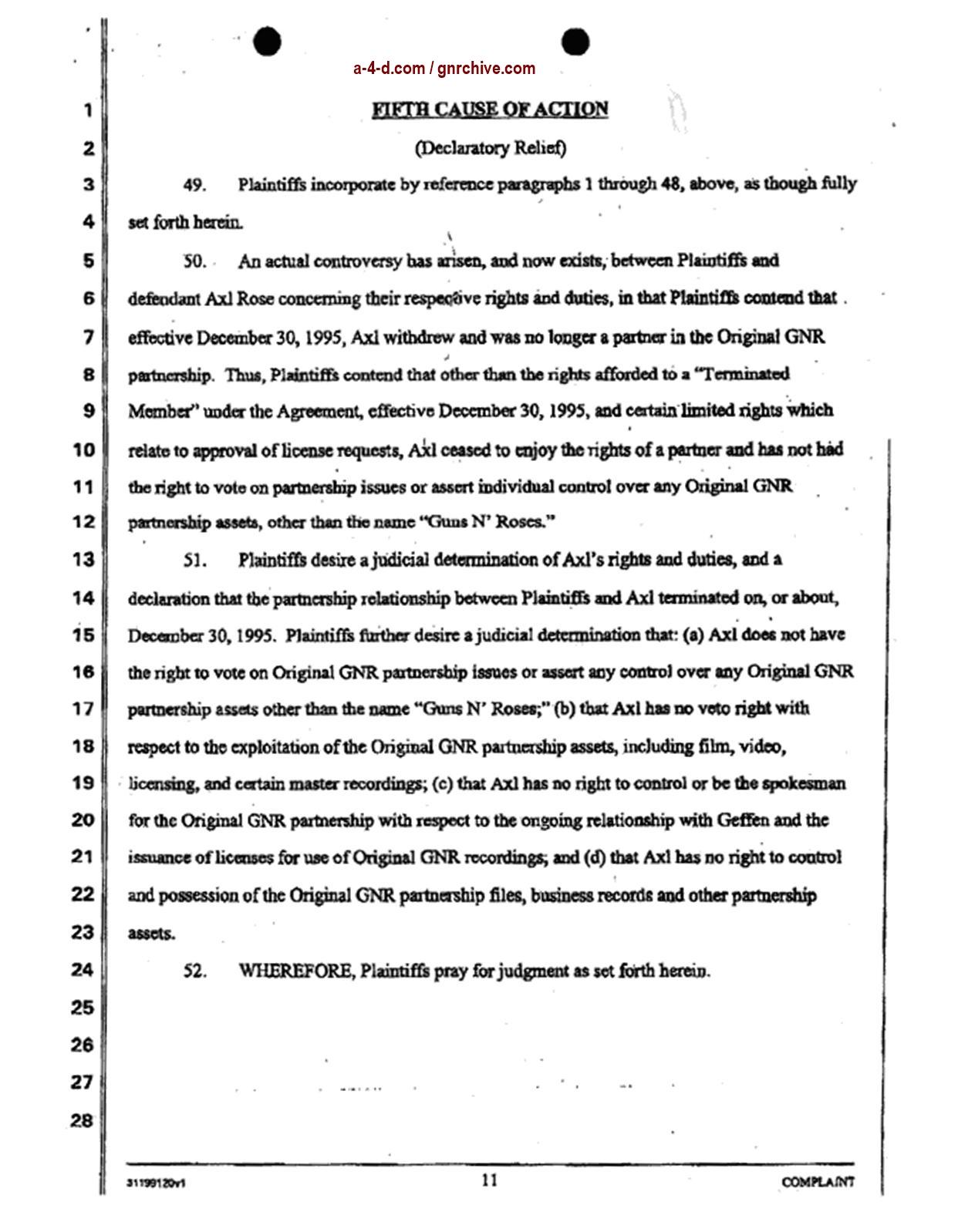 2004.04.29 - Slash & Duff Vs. Axl Lawsuit Document  2004_048