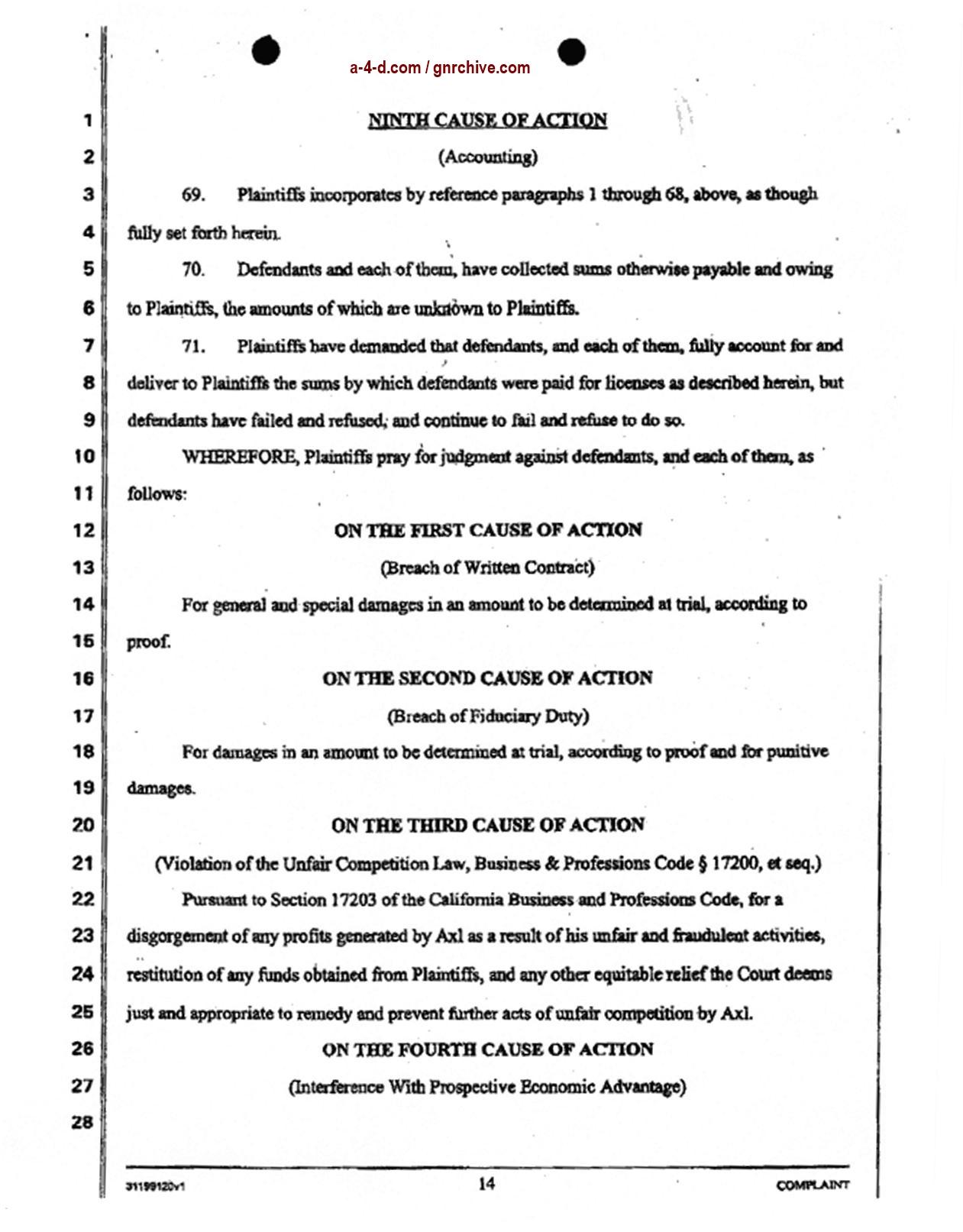 2004.04.29 - Slash & Duff Vs. Axl Lawsuit Document  2004_051
