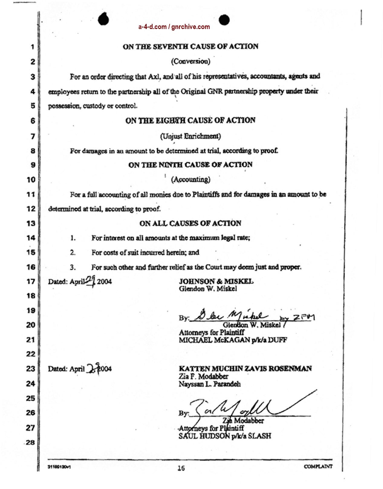 2004.04.29 - Slash & Duff Vs. Axl Lawsuit Document  2004_053