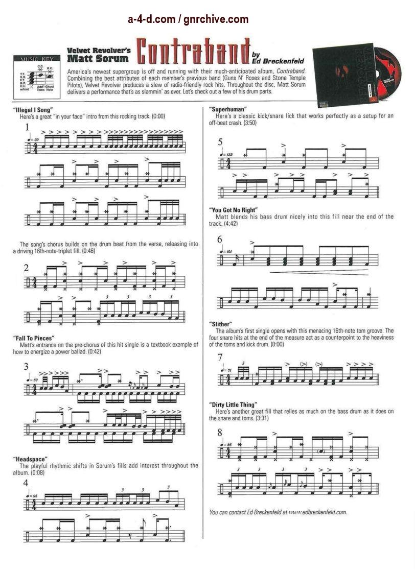 2005.02.DD - Modern Drummer - Matt Sorum: On Top... Again (Matt, Slash) 2005_017