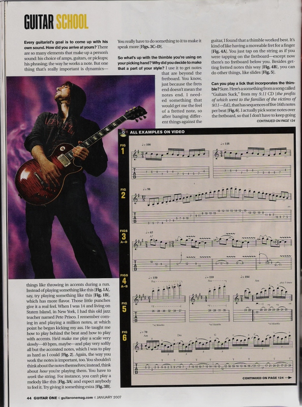 2007.01.DD - Guitar One - Who Is Bumblefoot? 20070113