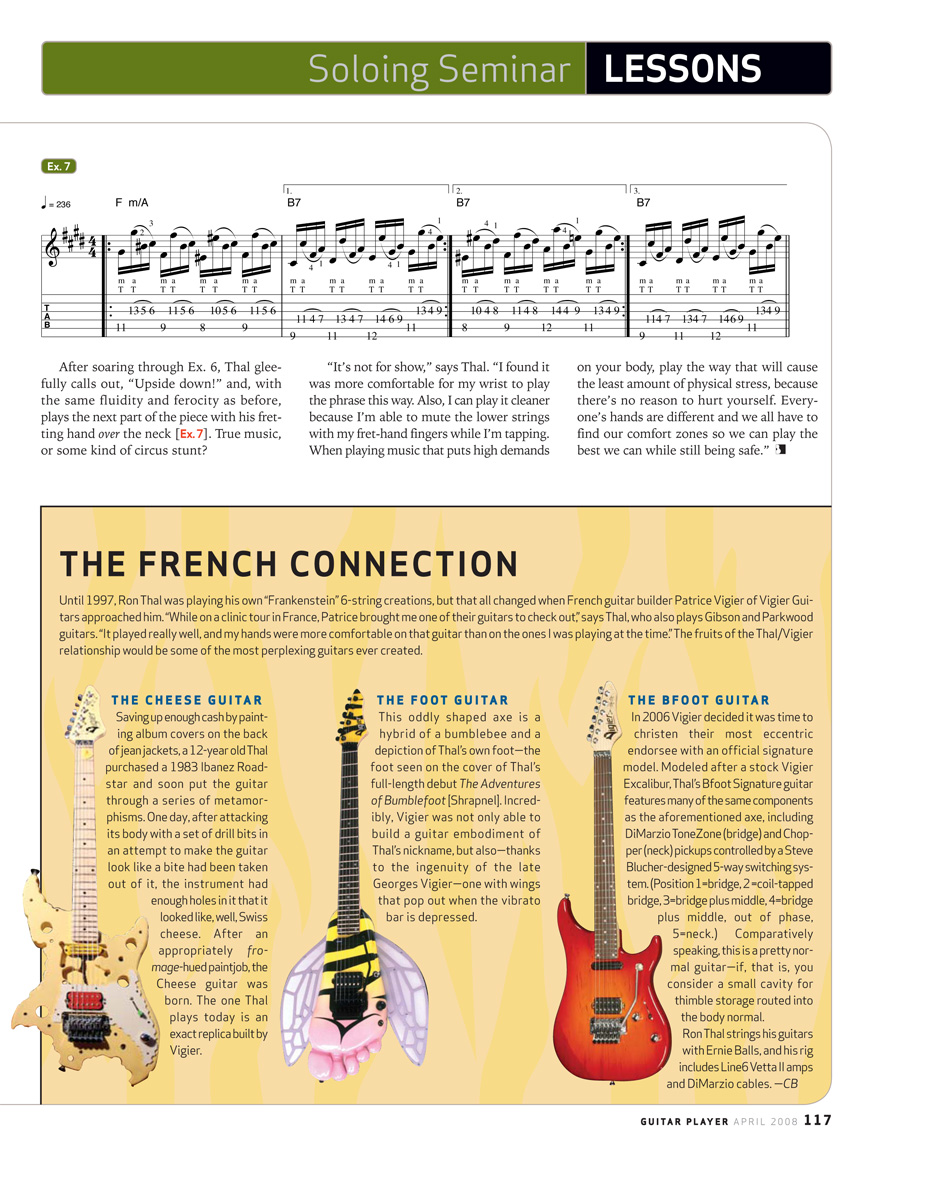 2008.04.DD - Guitar Player Magazine - Tapping Into Genius (Bumblefoot) 20080415