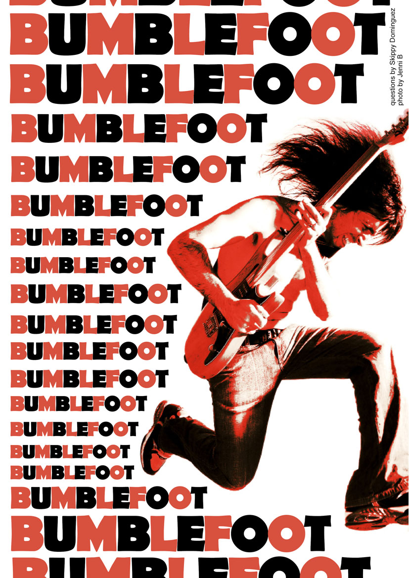 2008.07.DD - Doomsday Department Magazine - Interview with Bumblefoot 20080710