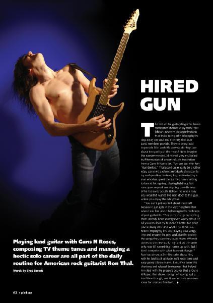2009.02.DD - Play Music Pickup Magazine - Hired Gun (Bumblefoot) 20090210