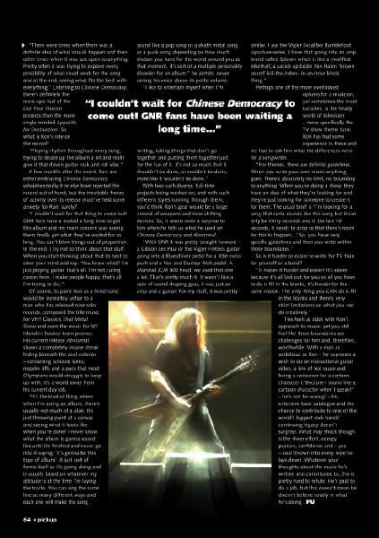 2009.02.DD - Play Music Pickup Magazine - Hired Gun (Bumblefoot) 20090211