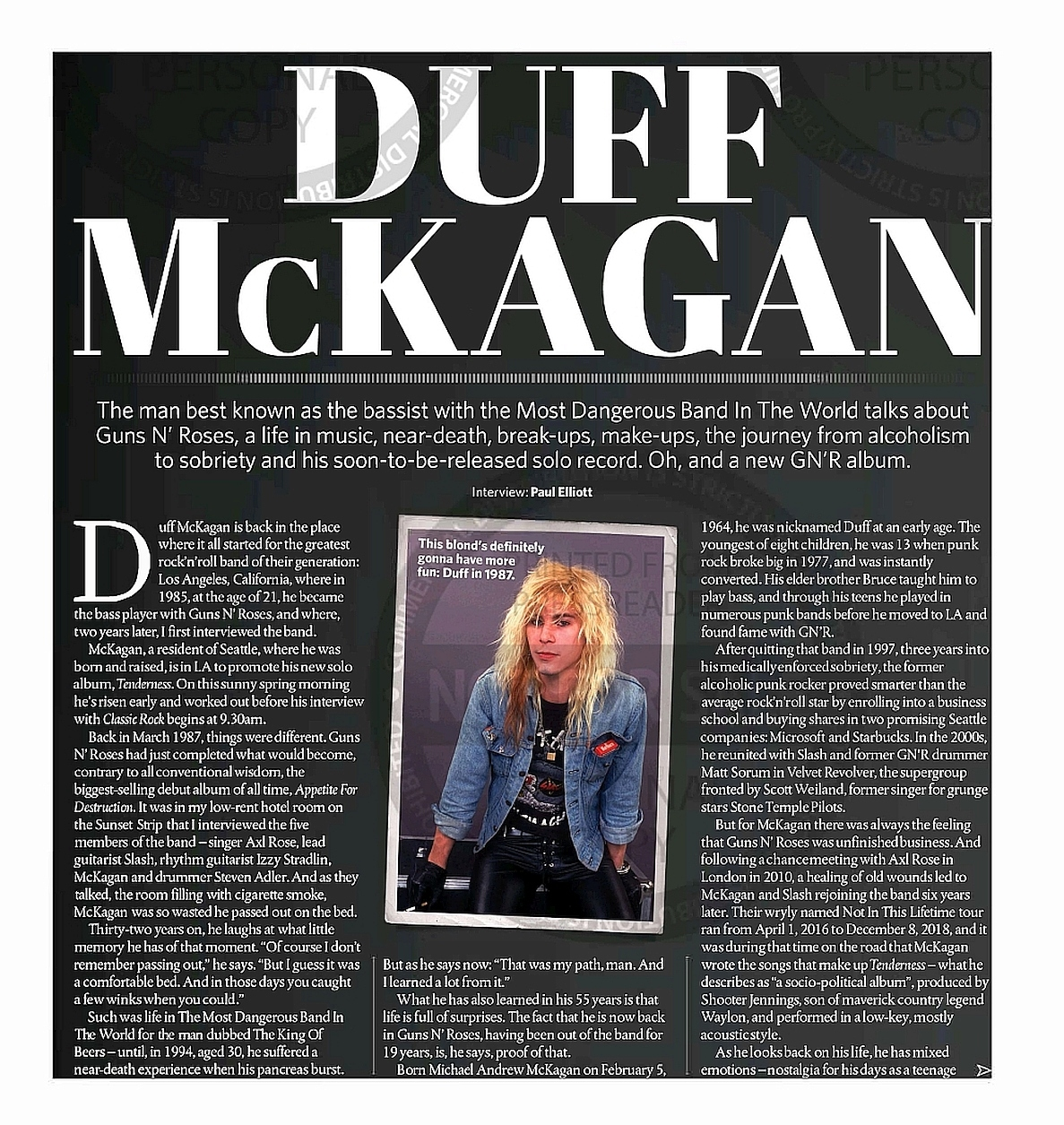 2019.05.DD - Classic Rock - Duff McKagan: We wanted Izzy to be part of Guns N' Roses reunion 2019_040