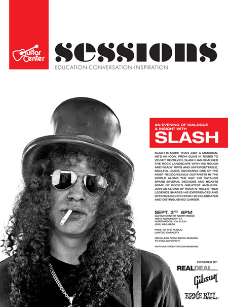 2008.09.03 - L.A. Times Soundboard - Slash Gets Literary, Hits Guitar Center Tonight 27795310