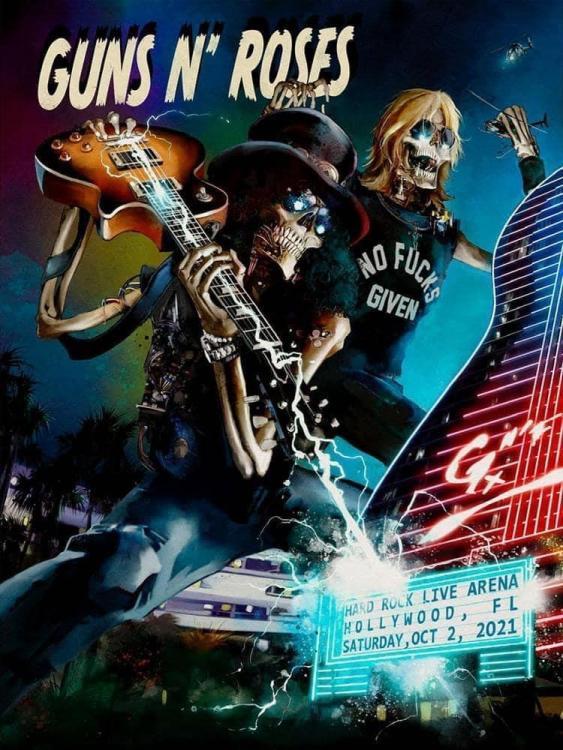 2021.10.02 - Hard Rock Live Arena, Hollywood, FL, USA 60a97c11