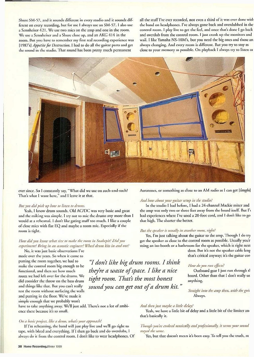 1999.01.DD - Home Recording Magazine - Slash In The Studio _slash11