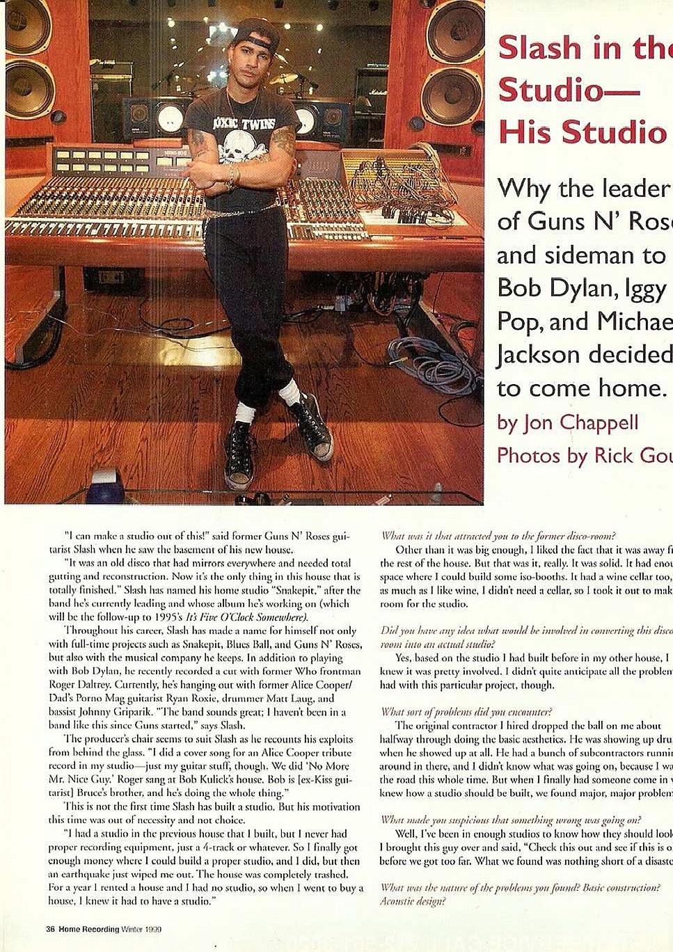 1999.01.DD - Home Recording Magazine - Slash In The Studio _slash12