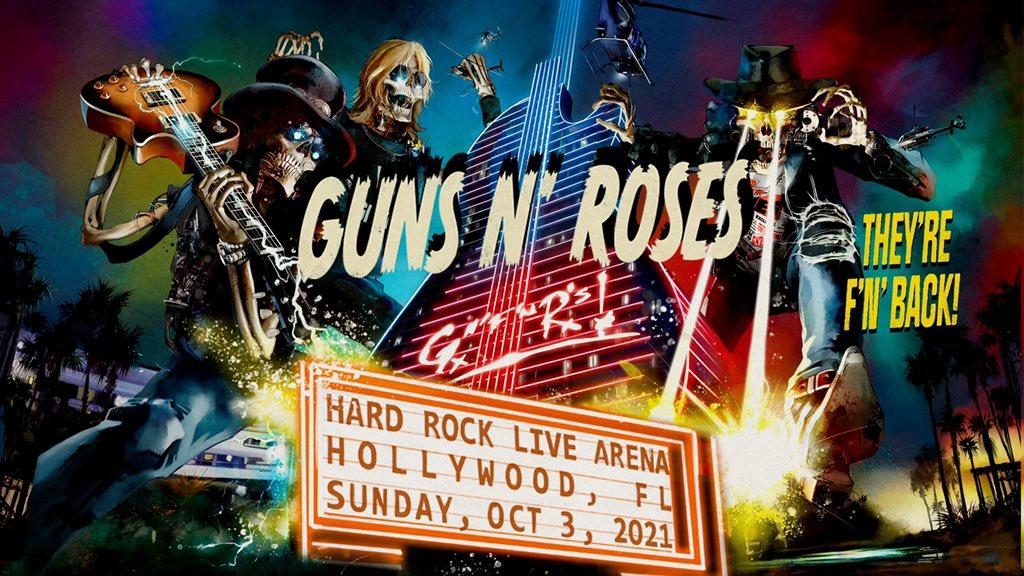 2021.10.03 - Hard Rock Live Arena, Hollywood, FL, USA. Fazhrv10