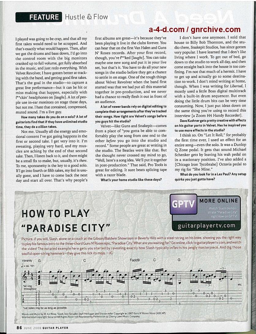 2008.06.DD - Guitar Player - Hustle & Flow (Slash) Guitar24