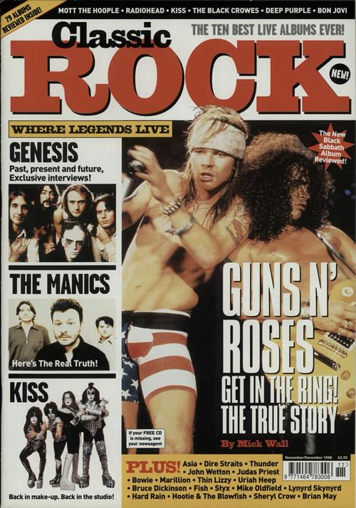 1998.11.DD - Classic Rock - Guns N' Roses Get In The Ring! The True Story Guns-n11