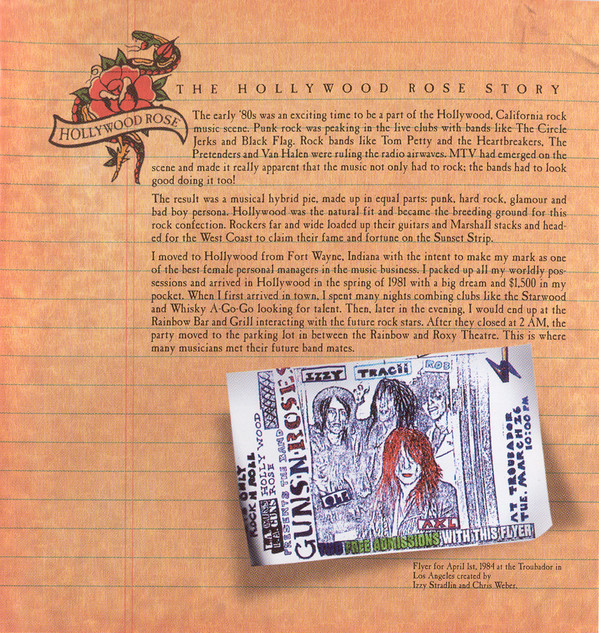 2004.06.22 - Hollywood Rose CD Booklet - The Hollywood Rose Story (Vicky Hamilton) Hr-roo20