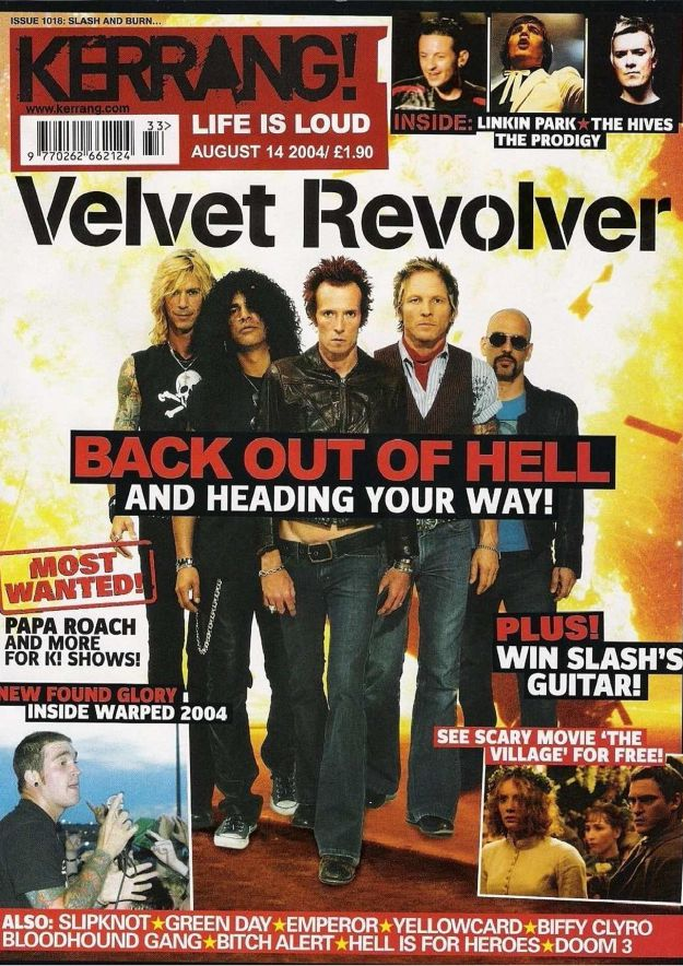 2004.08.14 - Kerrang! - The Last Gang In Town (Slash, Duff, Matt) Kerran13