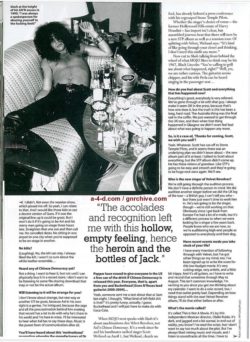 2008.06.DD - Mojo Magazine - Slash: The Truth About His Past, Present and Future Mojo_j18
