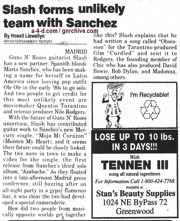 1997.04.04 - San Antonio Express-News - No Idle Thoughts (Slash) Not_po10