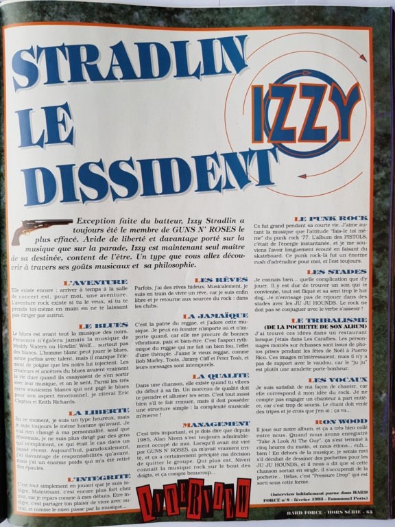 1993.02.DD - Hard Force (France) - Izzy Stradlin: The Dissident P631010