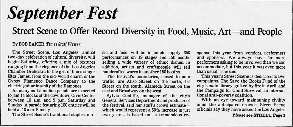 1986.09.20 - LA Street Scene Festival, Los Angeles, USA Street11