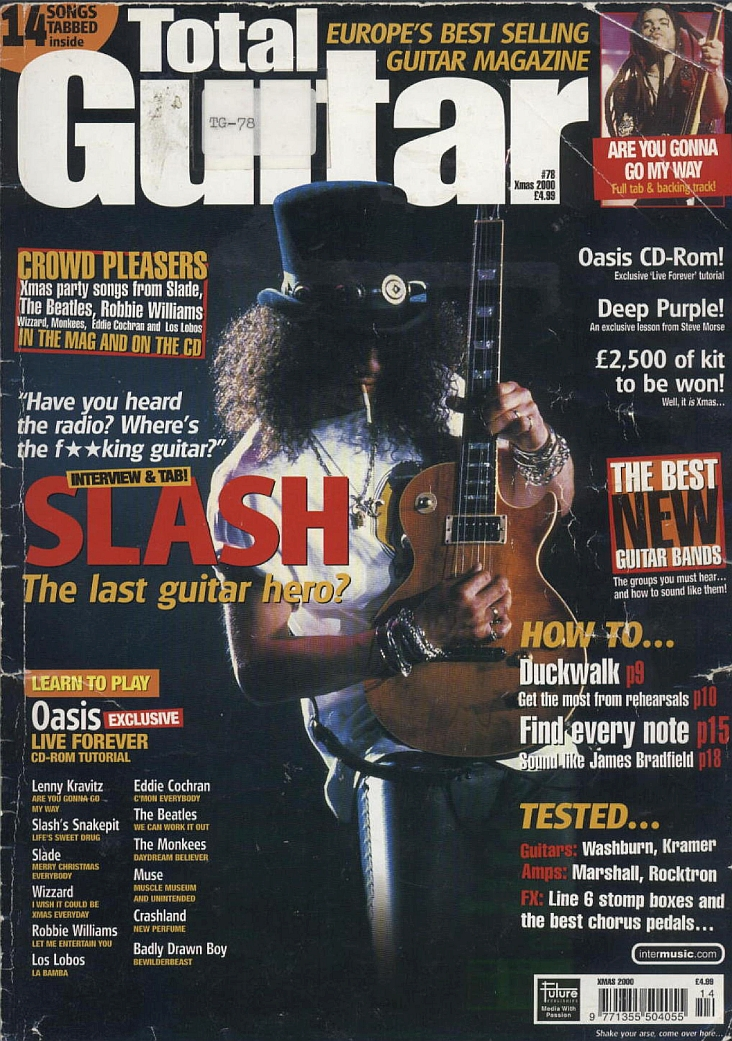 2000.12.DD - Total Guitar - Slash: The Last Guitar Hero? Total_10