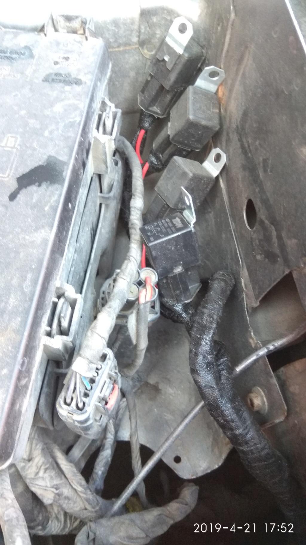 Изолируем  и  защищаем   блок  реле  и  разъёмов  в передней  части  левой  передней  колёсной  нише - Страница 3 2019-010
