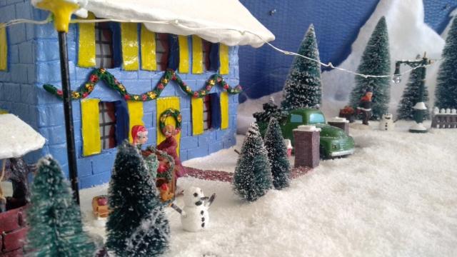 Notre village de Noël 2019 - fait main  Img_2078